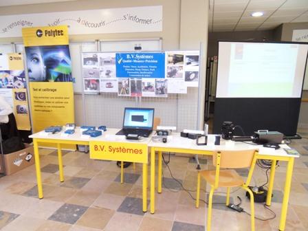 B.V. Systèmes présent à CFM 2011