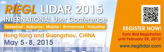 RIEGL et BV Systèmes au LIDAR 2015